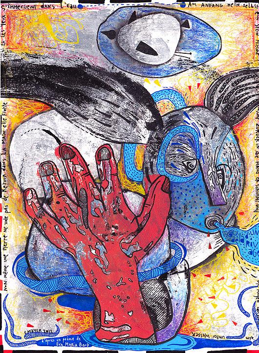 eric meyer, peinture, dessin, art
