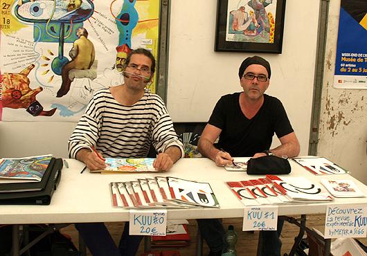 eric meyer, peinture, dessin, art, art postal, kuu, peinture collective