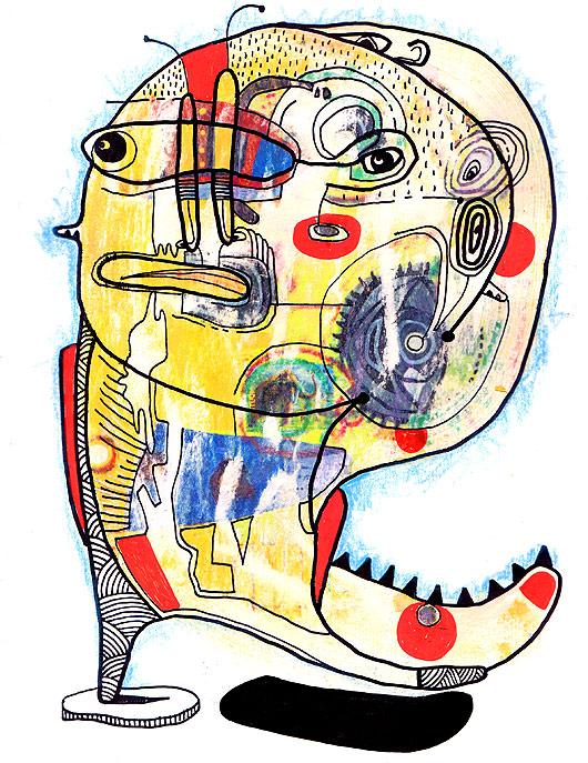 eric meyer, peinture, art, figuration