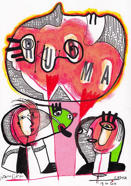 eric meyer, KUU, peinture collective, art