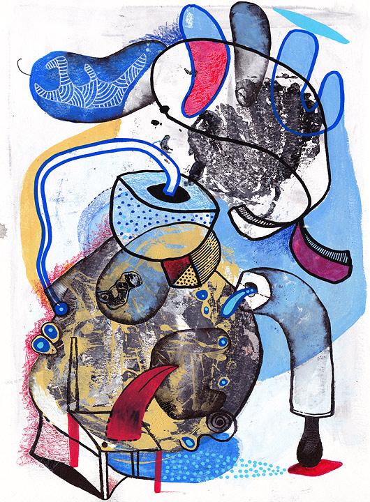 eric meyer, dessin contemporain, art, peinture