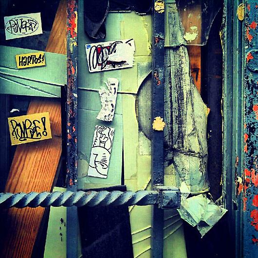 eric meyer, peinture, photographie, typographie, rue