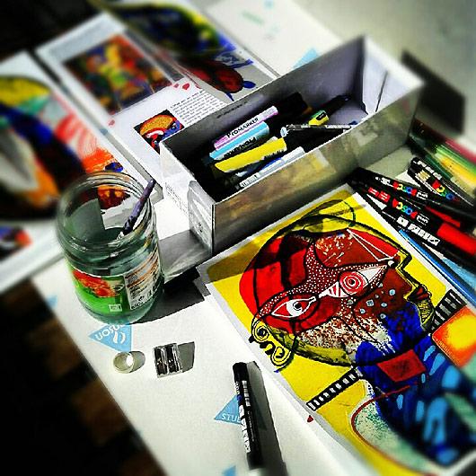 KUU, eric meyer, peinture, revue d'art, figuration, dessin contemporain