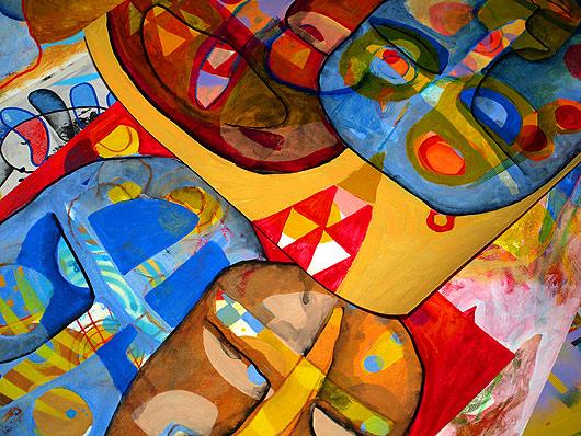 eric meyer, peinture, art contemporain, dessin, feutres posca