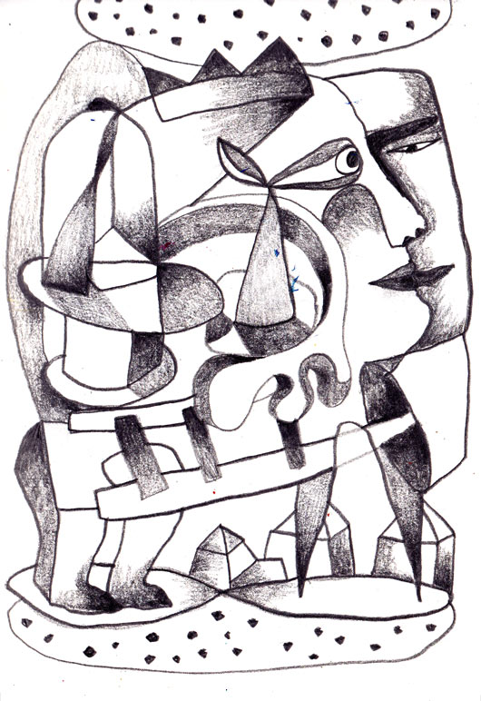 eric meyer, dessin, carnet, croquis, mine de plomb, crayon