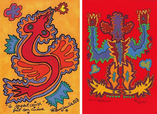 Thierry Lambert, art postal, mail art, poésie