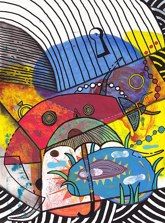 eric meyer, yannick lefeuvre, conte, illustration, peinture, livre, enfance, école, pédagogie