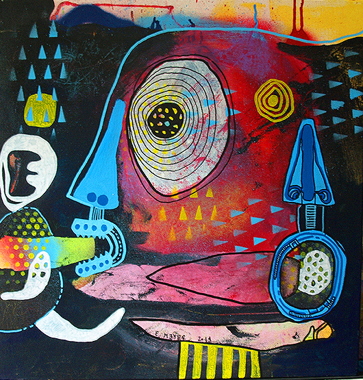 eric meyer, peinture, art contemporain, figuration