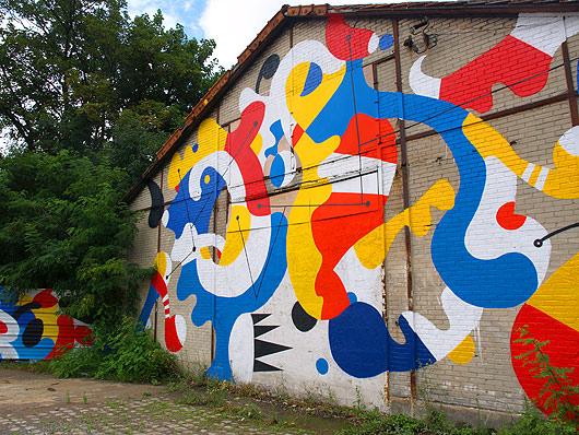 in stu art festival, fort d'aubervilliers, aubervilliers, street art