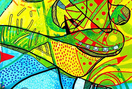 donald duck, eric meyer, dessins, dessins contemporain, figuration, figuration libre, poscas, peinture, art